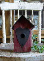 Little Red Birdhouse