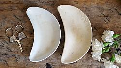 Pair of Ironstone Bone Dishes