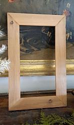 Unfinished Wood Frame