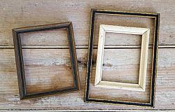 Trio of Old Wood Frames