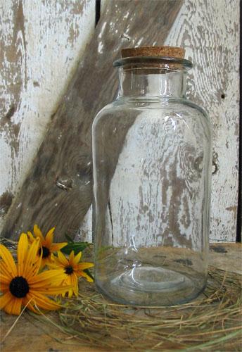 Glass Jar with Cork