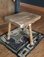 Three-Legged Milking Stool