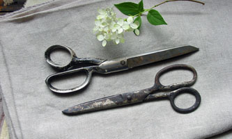 "Large Vintage Scissors Pair ""A"""