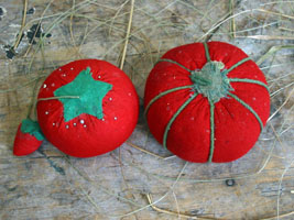"Tomato Pincushion Lot ""E"""
