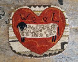 Wool Needle Punch Mat