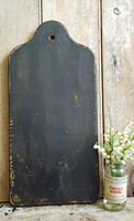 Tombstone Cutting Board Black Paint