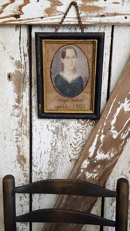 Cinnamon Creek Framed Fabric Portrait