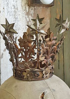 French Metal Crown
