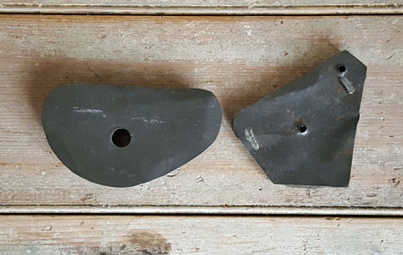 Antique Cookie Cutters Pair of Birds