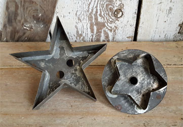 Antique Cookie Cutters Stars