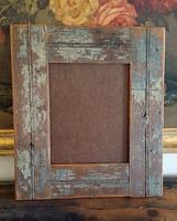 Frame - Old Light Blue Wood 8 x 10
