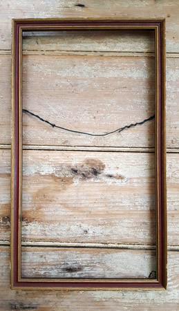 Frame - Antique Red and Gold