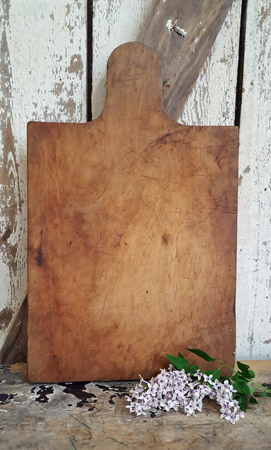 Antique Cutting Board - Nice Patina