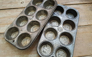 Pair of Vintage Muffin Tins