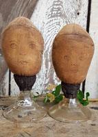 Schneeman Mannequin Head Make-dos