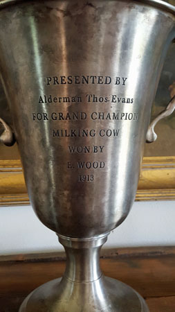 Grand Champion Milking Cow Trophy