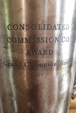 Grand Champion Steer Trophy