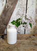 Little White Pottery Jar