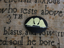 Folk Art Angel Needle Minder