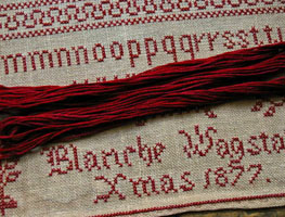 Blanche Wagstaff Xmas 1877 Floss Pack