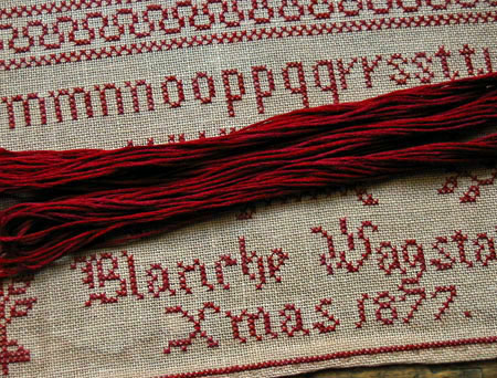 Blanche Wagstaff Xmas 1877 Floss Pack