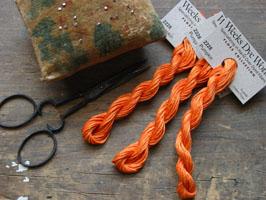 Weeks Dye Works Floss - Pumpkin 2228