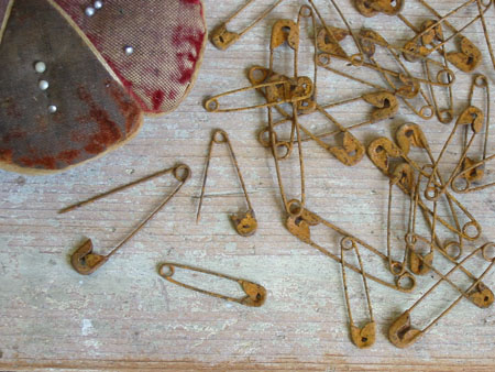 Rusty Safety Pins