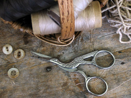 Silver Stork Scissors