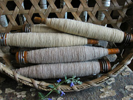 Bobbins with Thread/Yarn
