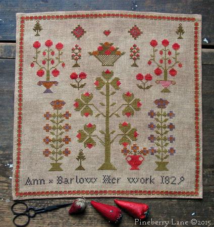 Ann Barlow 1829 PATTERN