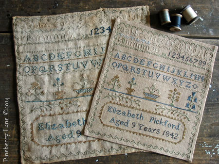 Elizabeth Pickford 1842 Sampler PATTERN