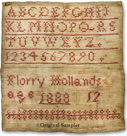 Florry Hollands 1888 PATTERN