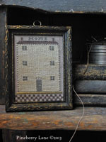 Home - A Diminutive Sampler PATTERN