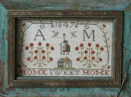 Home Sweet Home Sampler PATTERN