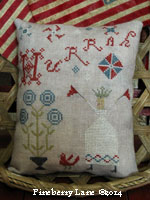 Hurrah Sampler Pillow PATTERN