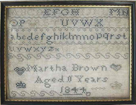 Martha Brown Marking Sampler PATTERN