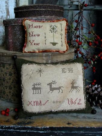Elizabeth Hammond's Xmas & New Year Samplers PATTERN