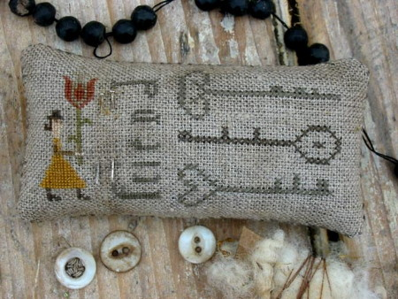 Except This Posey Sampler & Friend Pinkeep PATTERN