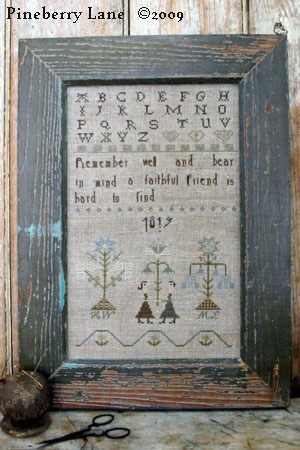 A Faithful Friend Sampler PATTERN