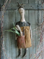 Fancey Blackett Primitive Doll E-PATTERN