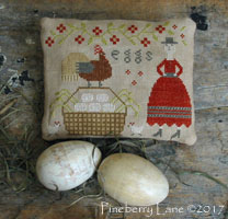 Sister's Farm Fresh Eggs PATTERN