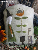 Fancey Blackett - Prize Sunflower Wool Applique PATTERN