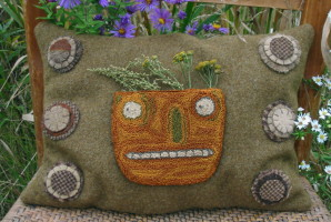 Harvest Gatherings Pumpkin Pillow PATTERN