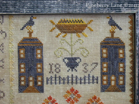 Autumn on Marigold Lane PATTERN