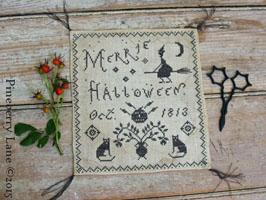 Merrie Halloween PATTERN