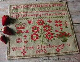 Winifred Glarke 1892 PATTERN