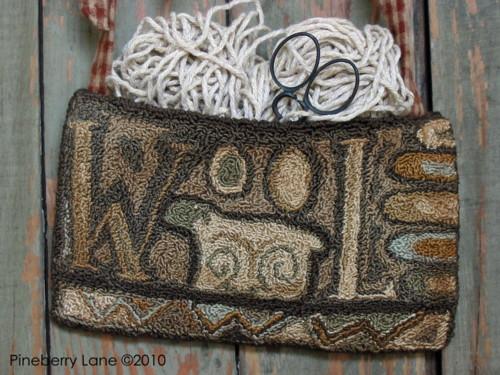 WooL Needle Punch Pocket PATTERN