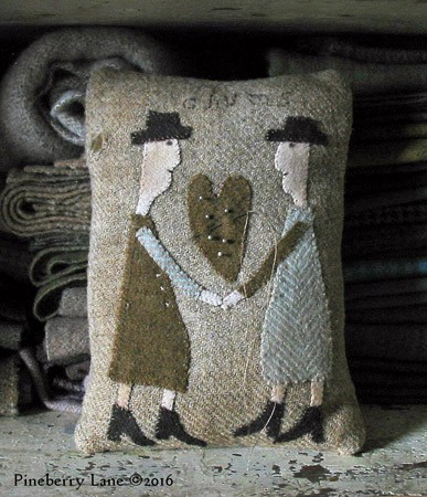 Two Old Chums E-pattern