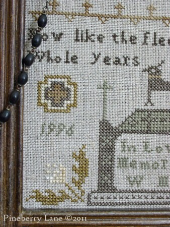 Beloved Companion Memorial Sampler E-pattern