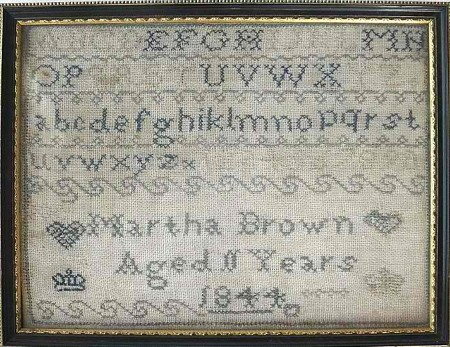 Martha Brown's Marking Sampler E-pattern